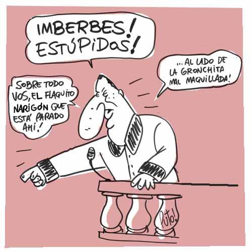 hUMOR pOLÍTICO Imberbes19741